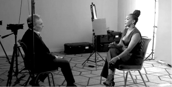 Ed Interviewing Vivica Fox