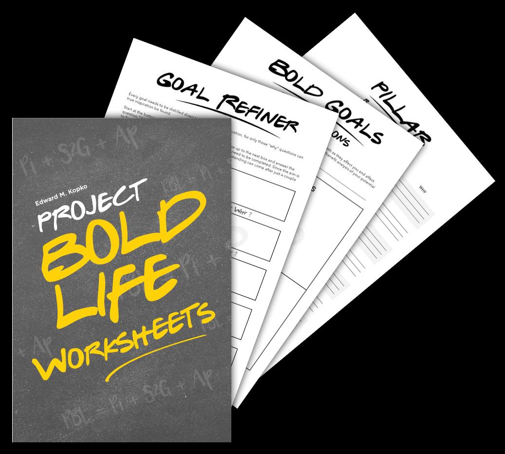 Bold Life Worksheet