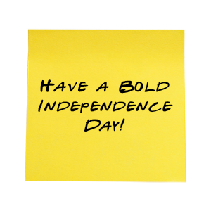 Notes From Ed Sticky Note Independence Day